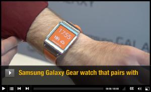 三星有望在2014年初推出下代智能手表Galaxy Gear 2