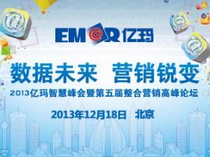 2013亿玛智慧峰会暨第五届整合营销高峰论坛