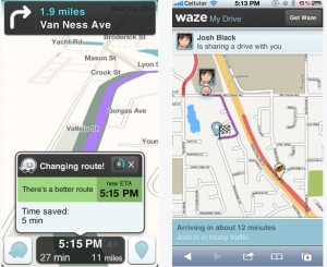 传谷歌即将以13亿美元收购Waze地图应用