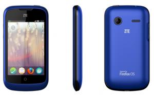 中兴领衔发布全球首款火狐系统智能手机ZTE Open