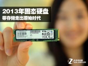 2013年固态硬盘带存储走出原始时代