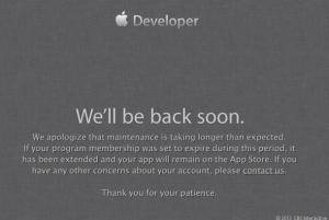 苹果:开发者网站遭攻击 仍旧宕机