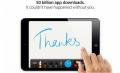 苹果App Store应用下载量突破500亿