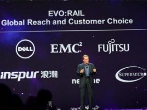 浪潮在VMworld上全球首发EVO一体机