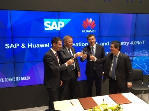 华为与SAP进行联合创新 深化工业4.0和物联网合作
