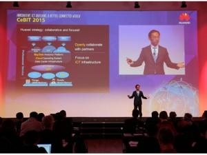 华为在CeBIT展重磅发布四款ICT解决方案:开放创新,共建全联接世界