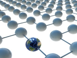 如何跨多个MPLS提供商之间建立连接?