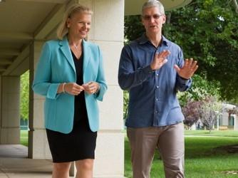 IBM与苹果建立企业应用合作协议