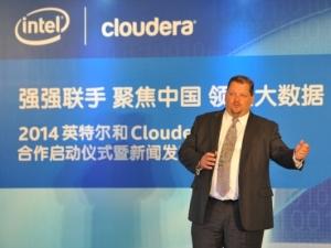 英特尔联手Cloudera开疆中国大数据市场