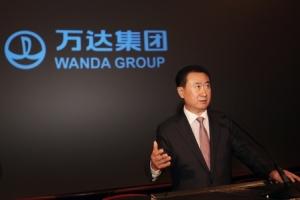 王健林:对万达电商腾讯百度也就给了点意见