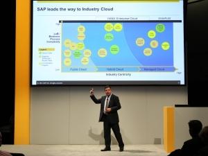 SAP行业云总裁:HANA企业云将与客户及伙伴联合创新