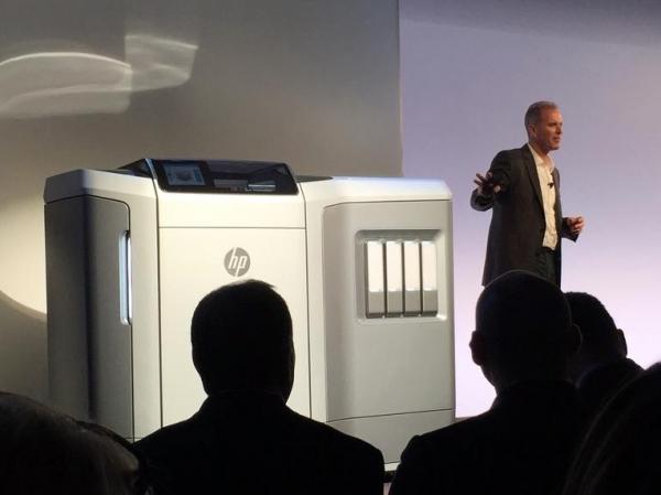 惠普发布全新3D打印技术 效率提升10倍