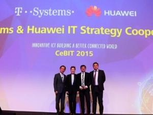 CeBIT 2015: 德电与华为签署在IT领域合作协议
