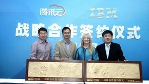 腾讯牵手IBM 为中小企业云化开出良方
