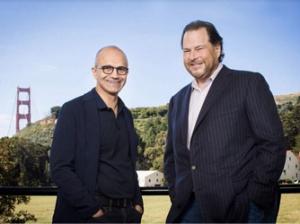 以Office 365为纽带 微软和Salesforce结成全新合作关系