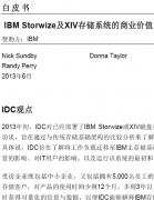 IBM Storwize及XIV存储系统的商业价值