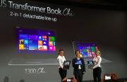 华硕CES2015新品:ZenFone、Transformer Book Chi系列齐亮相