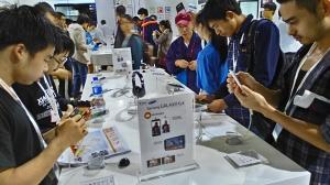 Galaxy Note 4/Edge领衔 三星携多款设备亮相通信展
