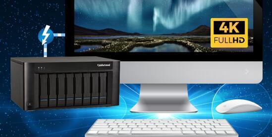 针对4K剪辑与传输 Infortrend发布两套支持Thunderbolt 的存储方案