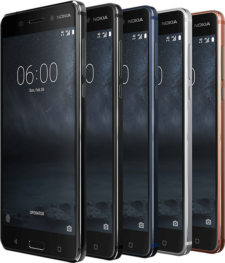 回到未来!诺基亚发布三款安卓手机与一款功能机
