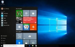 微软将调整Windows 10开始菜单