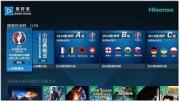 携手未来电视和新浪微博 海信打造欧洲杯最强观赛电视
