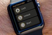 通用汽车测试Apple Watch汽车开锁应用