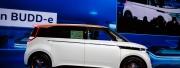 大众在CES展示BUDD-e概念车,一款常规复古电动汽车