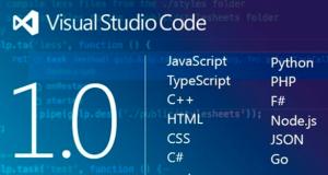 微软跨平台Visual Studio Code编辑器走到了1.0的里程碑