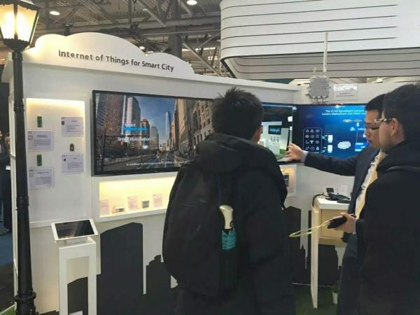 中兴通讯携手CLAA参展CeBIT 2017 实现LPWAN物联网规模商用