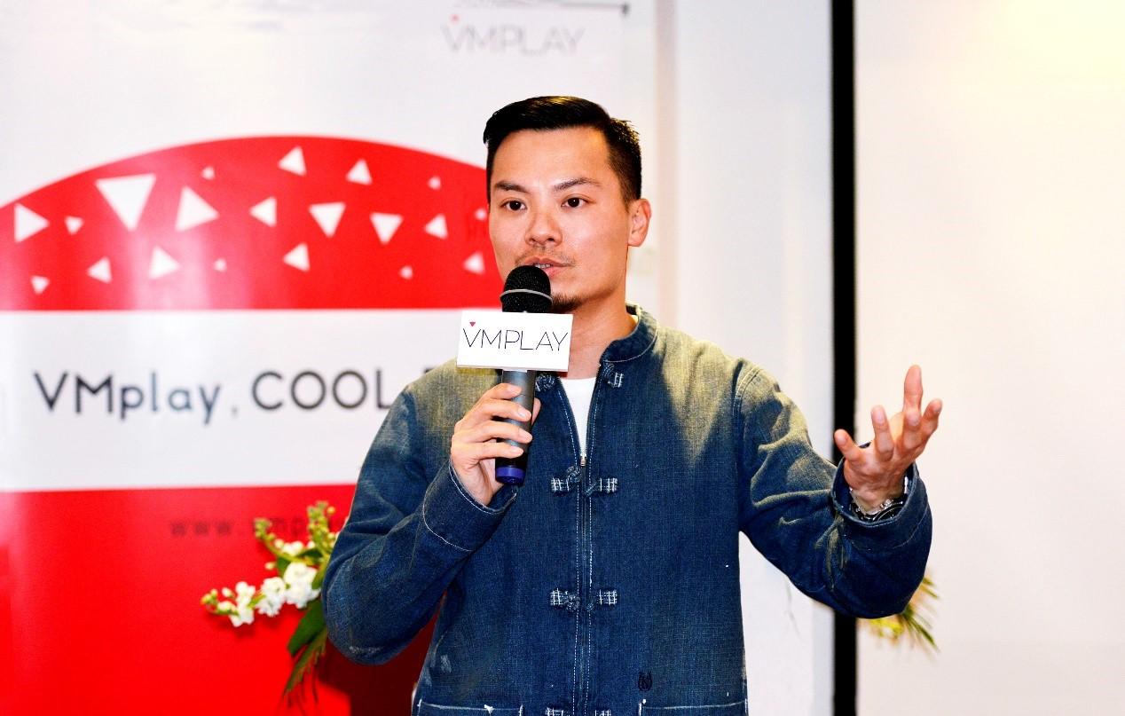 VMplay CEO 艾奇伟:像投影仪一样把App投放到云端