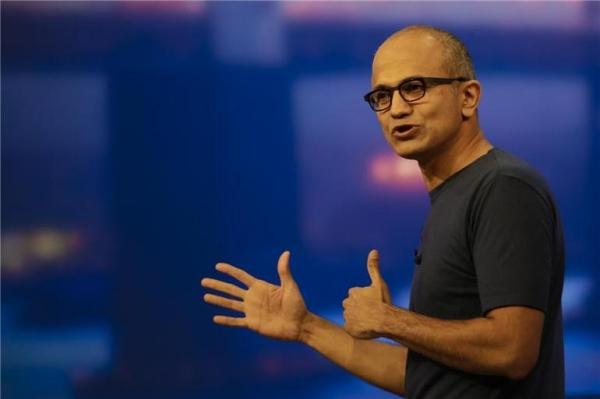 微软首席执行官纳德拉表示不要让人工智能取代人类工作