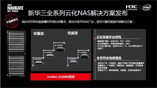 """新华三发布9款重量级 建立""""云化""""体系"""