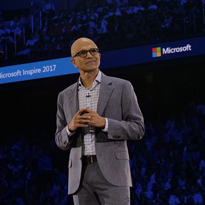 Inspire 2017:微软CEO主题演讲的5大重点