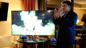 三极限超薄新概念 微鲸CES2017媒体沟通会发布新款电视