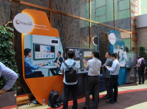Polycom开启创新协作+时代  全新解决方案闪耀京城