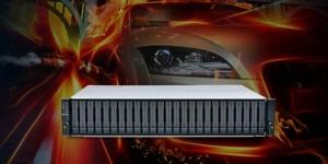 高速全闪存盘阵闪亮登场 Infortrend推出2U 25盘位高密度存储