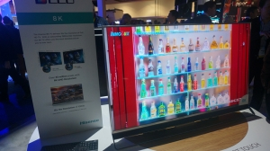 8K电视再度来袭 海信展出MU9800U智能电视