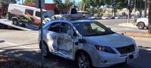 Google 无人车遭遇了它有史以来最严重的一次车祸
