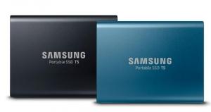 三星电子推出采用最新64层V-NAND技术的移动固态硬盘T5