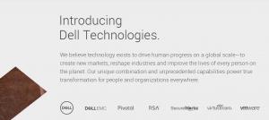 戴尔科技集团(Dell Technologies)正式成立