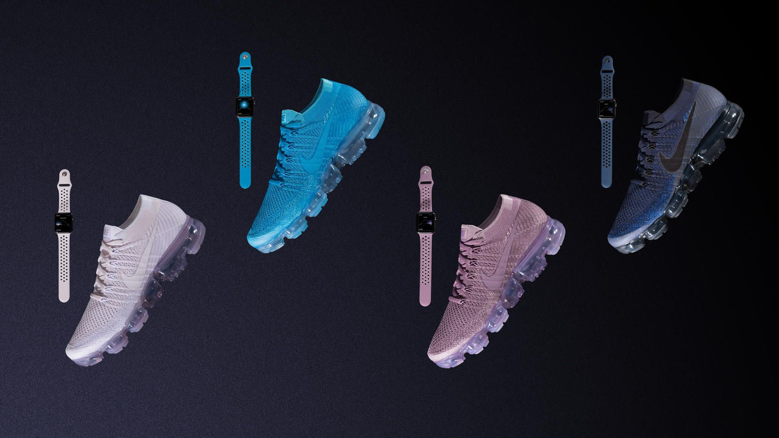 耐克推出多款Apple Watch表带 与其运动鞋相得益彰