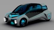 丰田FCV Plus概念车设计独特 传递环保理念