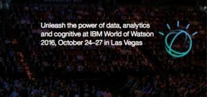 IBM World of Watson 2016
