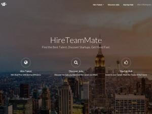 "HireTeamMate智能虚拟猎头让初创公司招聘进入""半自动化时代"""