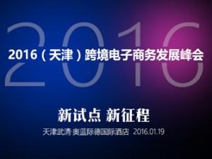 2016(天津)跨境电子商务发展峰会