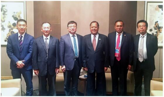 """中科曙光历军会见斯里兰卡来华代表 布局""""一带一路""""南亚信息带"""