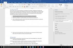 微软Office 365的新编辑器面板:Word的人工智能真的能让你成为更好的作家?