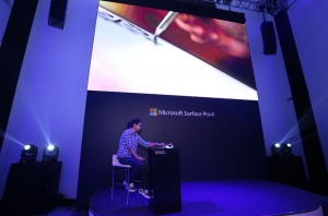 Surface Pro 4在中国上市前夕 微软开了个体验大party