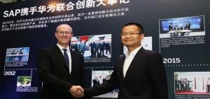 SAP与华为联合创新成果亮相深圳论坛   助推企业实现数字经济下的商业变革